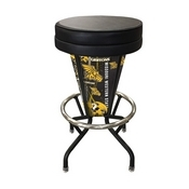 Lighted Missouri Western State Swivel Bar Stool By Holland Bar Stool Co.