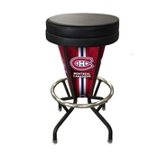 Lighted Montreal Canadiens Swivel Bar Stool By Holland Bar Stool Co.