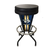 Lighted Nashville Predators Swivel Bar Stool By Holland Bar Stool Co.