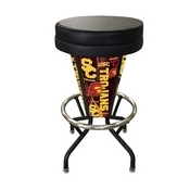 Lighted Usc Trojans Swivel Bar Stool By Holland Bar Stool Co.