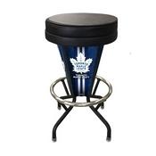 Lighted Toronto Maple Leafs Swivel Bar Stool By Holland Bar Stool Co.