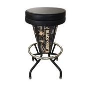 Lighted Us Military Academy (Army) Swivel Bar Stool By Holland Bar Stool Co.