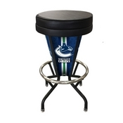 Lighted Vancouver Canucks Swivel Bar Stool By Holland Bar Stool Co.