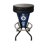 Lighted Winnipeg Jets Swivel Bar Stool By Holland Bar Stool Co.