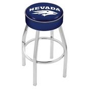 L8C1 - 4 Nevada Cushion Seat with Chrome Base Swivel Bar Stool by Holland Bar Stool Company