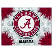 Alabama A Logo Canvas by Holland Bar Stool Company