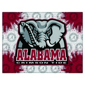 Alabama Logo Canvas by Holland Bar Stool Company