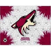 Arizona Coyotes Logo Canvas by Holland Bar Stool Company