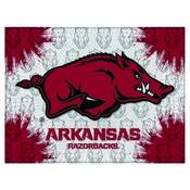 Arkansas Logo Canvas by Holland Bar Stool Company