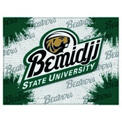 Bmidji State Logo Canvas by Holland Bar Stool Company