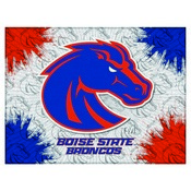 Boise State Logo Canvas by Holland Bar Stool Company