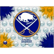 Buffalo Sabres Logo Canvas by Holland Bar Stool Company