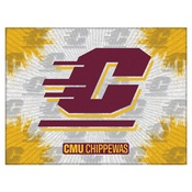 Central Michigan Logo Canvas by Holland Bar Stool Company