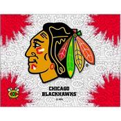 Chicago Blackhawks Logo Canvas by Holland Bar Stool Company