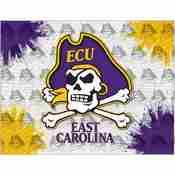 East Carolina Logo Canvas by Holland Bar Stool Company
