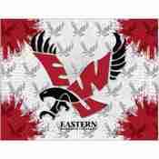 Eastern Washington Logo Canvas by Holland Bar Stool Company