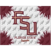 Florida State (Script) Logo Canvas by Holland Bar Stool Company