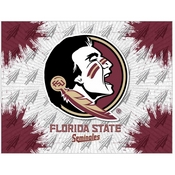 Florida State (Head) Logo Canvas by Holland Bar Stool Company