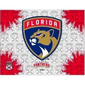Florida Panthers Logo Canvas by Holland Bar Stool Company