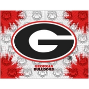 Georgia G Logo Canvas by Holland Bar Stool Company