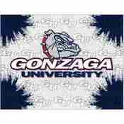 Gonzaga Logo Canvas by Holland Bar Stool Company