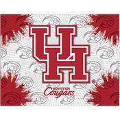 Houston Logo Canvas by Holland Bar Stool Company