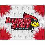 Illinois State Logo Canvas by Holland Bar Stool Company