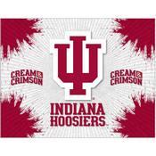 Indiana Logo Canvas by Holland Bar Stool Company