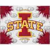 Iowa State Logo Canvas by Holland Bar Stool Company