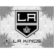 Los Angeles Kings Logo Canvas by Holland Bar Stool Company