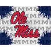 Ole' Miss Logo Canvas by Holland Bar Stool Company