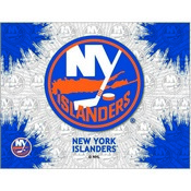 New York Islanders Logo Canvas by Holland Bar Stool Company