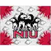 Northern Illinois Logo Canvas by Holland Bar Stool Company