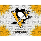 Pittsburgh Penguins Logo Canvas by Holland Bar Stool Company