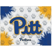 Pitt Logo Canvas by Holland Bar Stool Company
