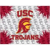 USC Trojans Logo Canvas by Holland Bar Stool Company