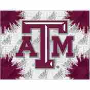Texas A&M Logo Canvas by Holland Bar Stool Company