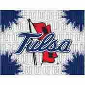 Tulsa Logo Canvas by Holland Bar Stool Company