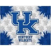Kentucky UK Logo Canvas by Holland Bar Stool Company