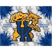 Kentucky Wildcat Logo Canvas by Holland Bar Stool Company