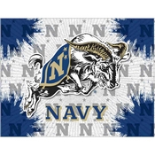 US Naval Academy (NAVY - Goat) Logo Canvas by Holland Bar Stool Company
