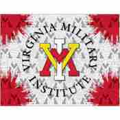 Virginia Military Institute Logo Canvas by Holland Bar Stool Company