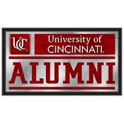 Cincinnati Alumni Mirror by Holland Bar Stool Co.