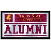 Ferris State University Alumni Mirror by Holland Bar Stool Co.
