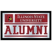 Illinois State Alumni Mirror by Holland Bar Stool Co.