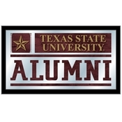 Texas State Alumni Mirror by Holland Bar Stool Co.
