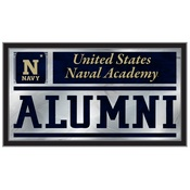 US Naval Academy (NAVY) Alumni Mirror by Holland Bar Stool Co.