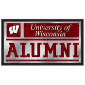 Wisconsin Alumni Mirror by Holland Bar Stool Co.