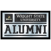 Wright State Alumni Mirror by Holland Bar Stool Co.