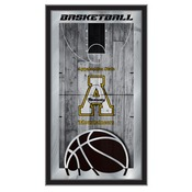 "Appalachian State 15"" x 26"" Basketball Mirror by Holland Bar Stool Company"